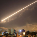 Объединённый удар США, Франции, Великобритании по Сирии 14-го апреля 2018-го года: отражение атаки ПВО САР