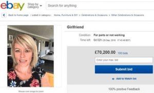 Ex-гирл на запчасти за $119 000