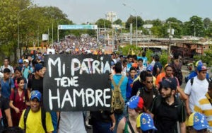 Кризис в Венесуэле: mi patria tiene hambre