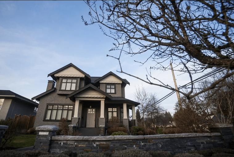Дом Менг Ванжоу в Ванкувере