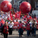 Протесты против закрытия завода Honda (UK)