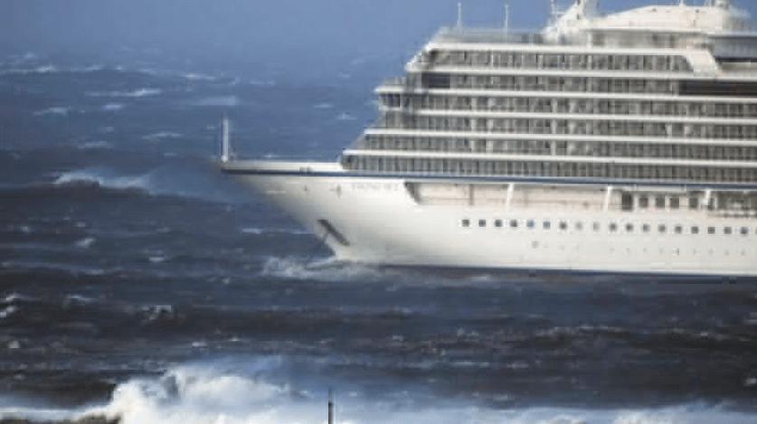 Круизное судно Viking Sky
