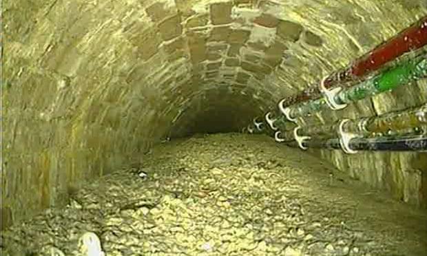 Бетонный затор лондонской канализации