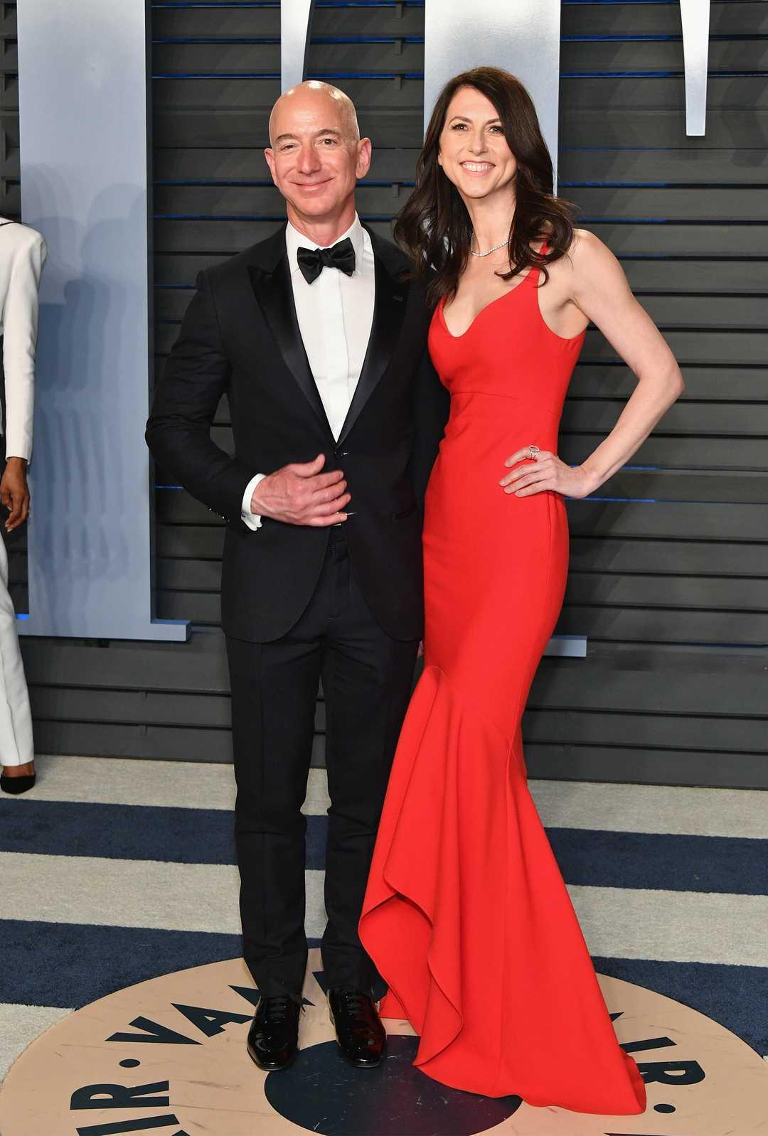 Джефф Безос с супругой Маккензи