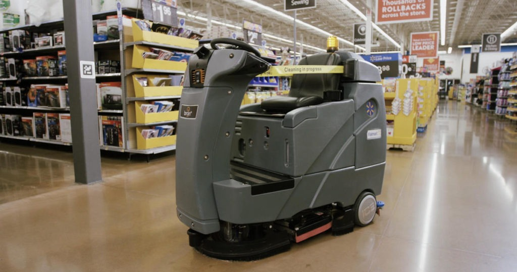 Walmart Auto-C Cleaning Robot