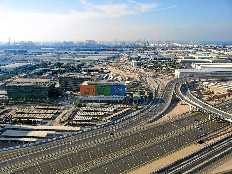 СЭЗ Дубаи, ОАЭ