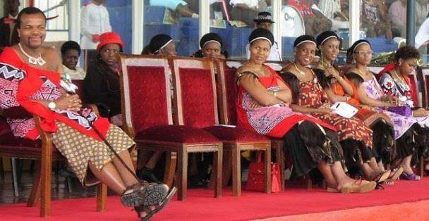 Король Свазиленда Мсвати Третий