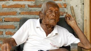 Мба Гото, 146-летний индонезиец
