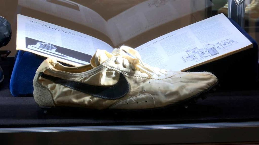 Nike Moon Shoe (Sotheby's)