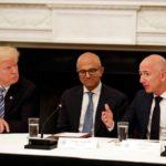 Трамп, Наделла и Безос