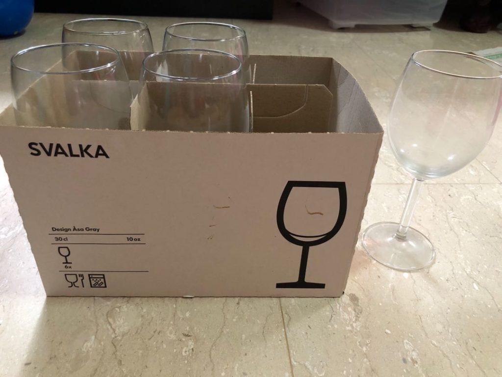 Посуда для бухлишка Ikea