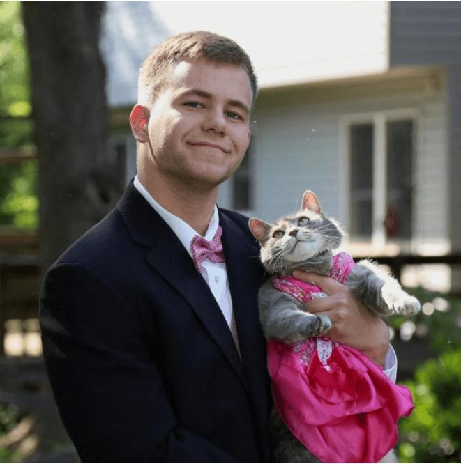 Sam Steingard & cat Ruby