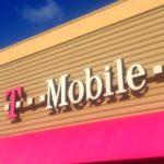 Вывеска магазина T-Mobile