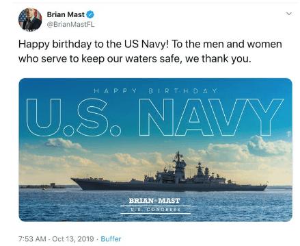 Brian Mast Florida Twitter