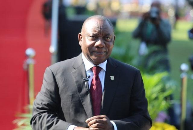 Cyril Ramaphosa SAR