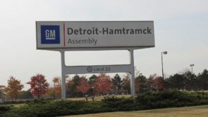 GM Assembly Plant, Hamtrack, Michigan