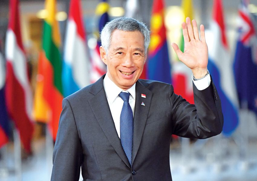 Lee Hsien Loong Singapore