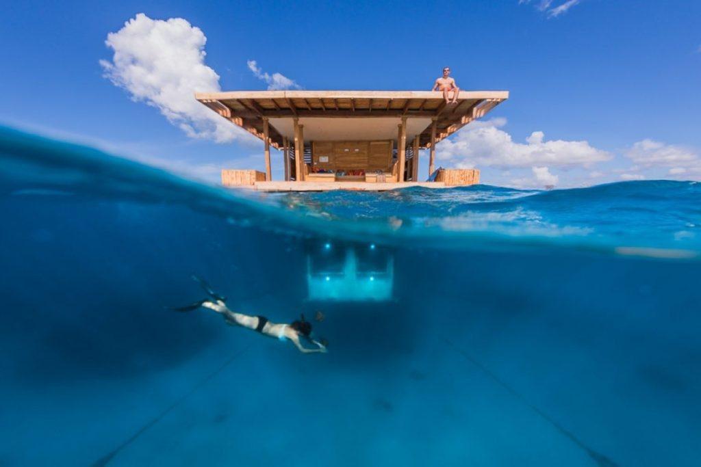 Manta Resort Underwater Cabin