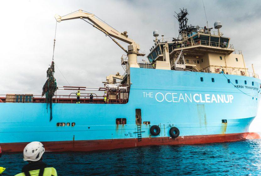 Ocean Cleanup Vessel