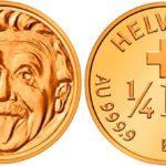 Swissmint Gold Coin with Albert Einstein