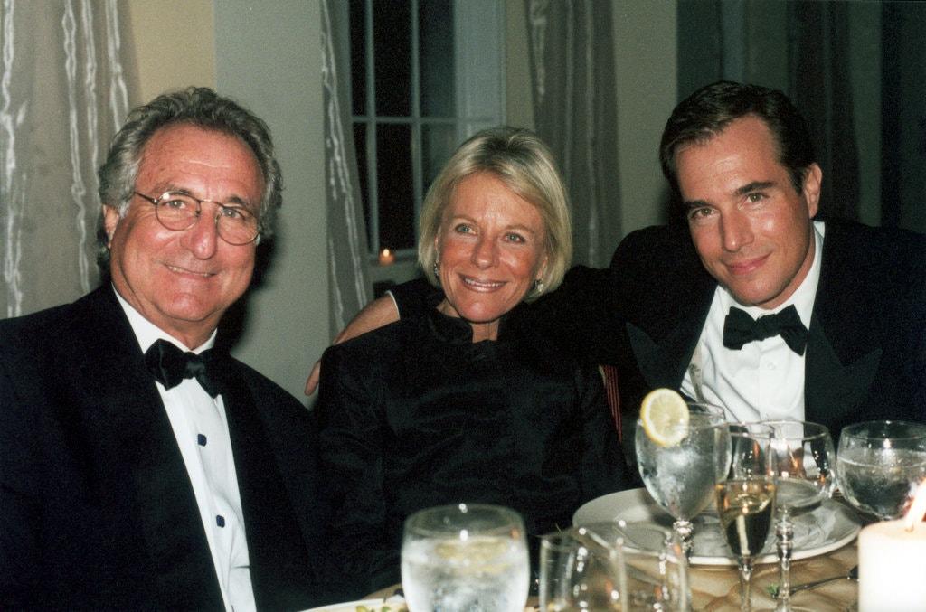 Бернард Мэдофф с женой Рут и сыном Марком