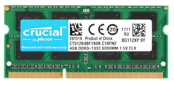 4GB DDR3 SO-DIMM Memory Module