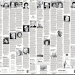 Некрологи в газете Boston Globe